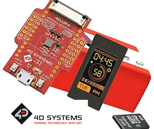 Descopera seria IoD-09 de la 4D Systems, usor de utilizat