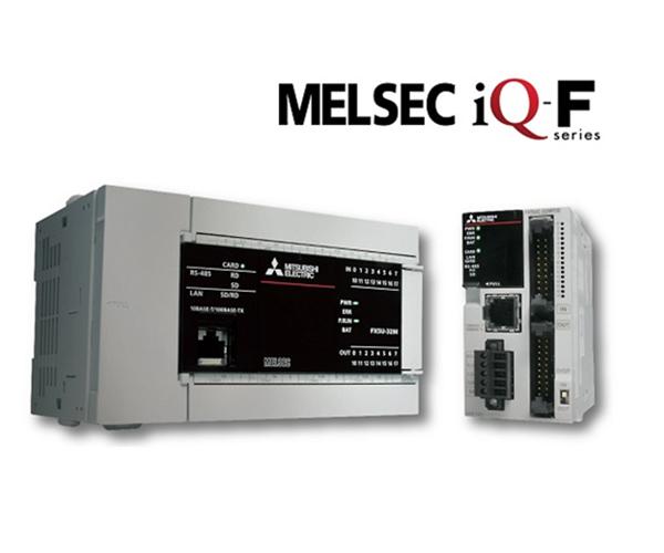 Noua generatie de Micro-PLC-uri seria MELSEC iQ-F acum in stoc