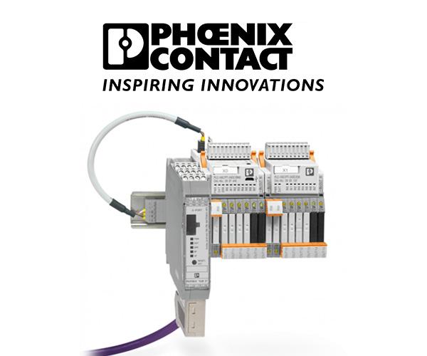 Flexibilitate in automatizare cu Pheonix Contact