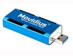 Stick de retea Movidius, procesor Myriad-2, USB tip A, dimensiune 72.5mm X 27mm X 14mm