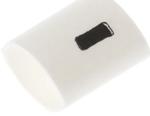 Marcatoare cabluri pre-tiparite cu I  TRSA-1019/C/1/MINUS, albe, diametru cablu 1 - 3mm, rezistente la foc si lichide
