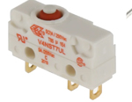 Microintrerupator V4NST7UL, configuratie contact SPDT-NO/NC, 5A @ 250Vac, IP67