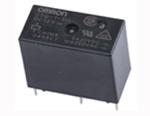 Releu fara blocare seria G5Q-1-EU 12DC, configuratie contact SPDT, montare PCB, 10A, 150W