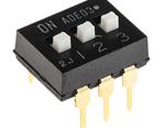 Comutator DIP cu 3 cai 1825360-2, seria ADE, configuratie contact SPST, 100mA@ 24Vdc